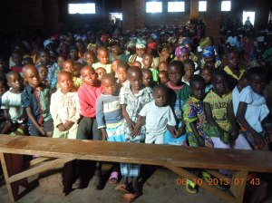 assemblée dominicale à Nyabangere