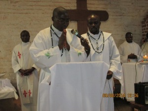 ordination  à Bagira et messe à Nyabangere