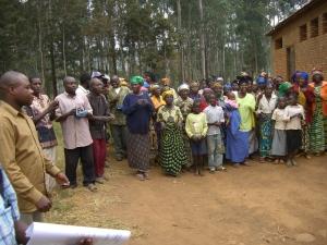 accoglienza a Nyabangere