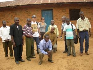 animatori del proggeto a Nyabangere