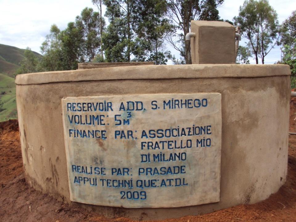 Cisterna a Ikungu