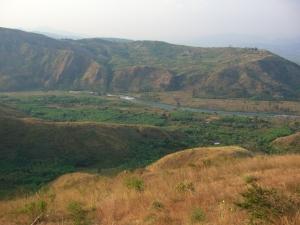 Fiume Ruzizi confini Congo Rwanda
