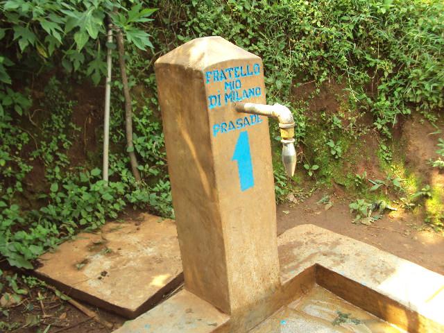 Fontana n° 1 a Mishanja Ikungu