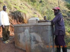 vasca di decantazione a Mirhego 2012