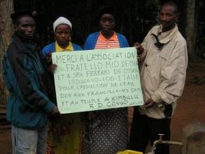 Realizzazione acqua a Kimbulu Butembo 005