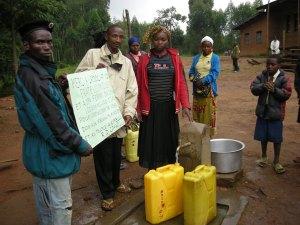 Realizzazione acqua a Kimbulu Butembo 007