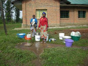 Realizzazione acqua a Kimbulu Butembo 009