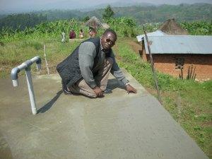 Realizzazione acqua a Kimbulu Butembo 015