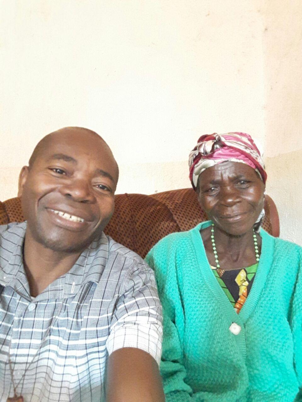 Avec maman en 2016